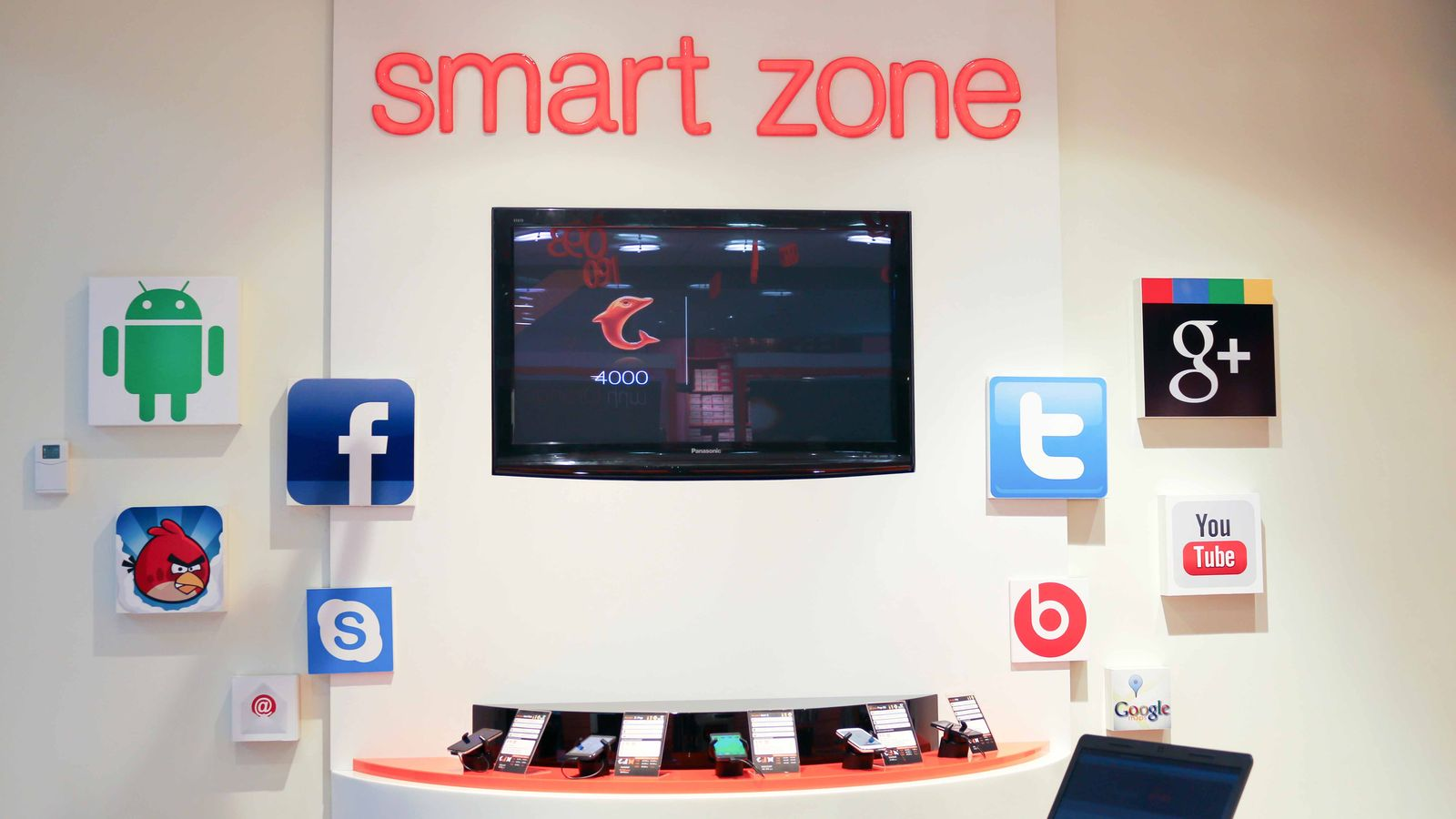 smart zone interior signs