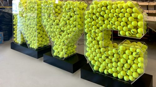 nyc tennis display sign