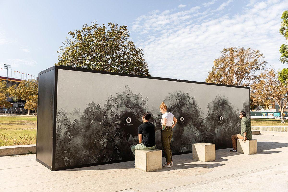 Light Art Installation Outdoor
