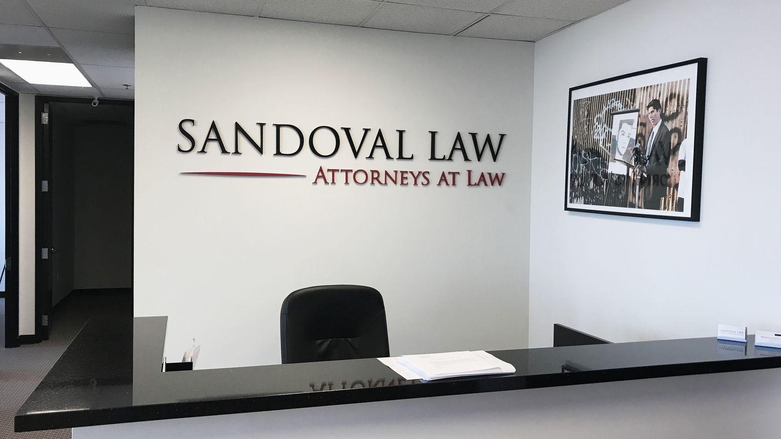 3d acrylic office sign