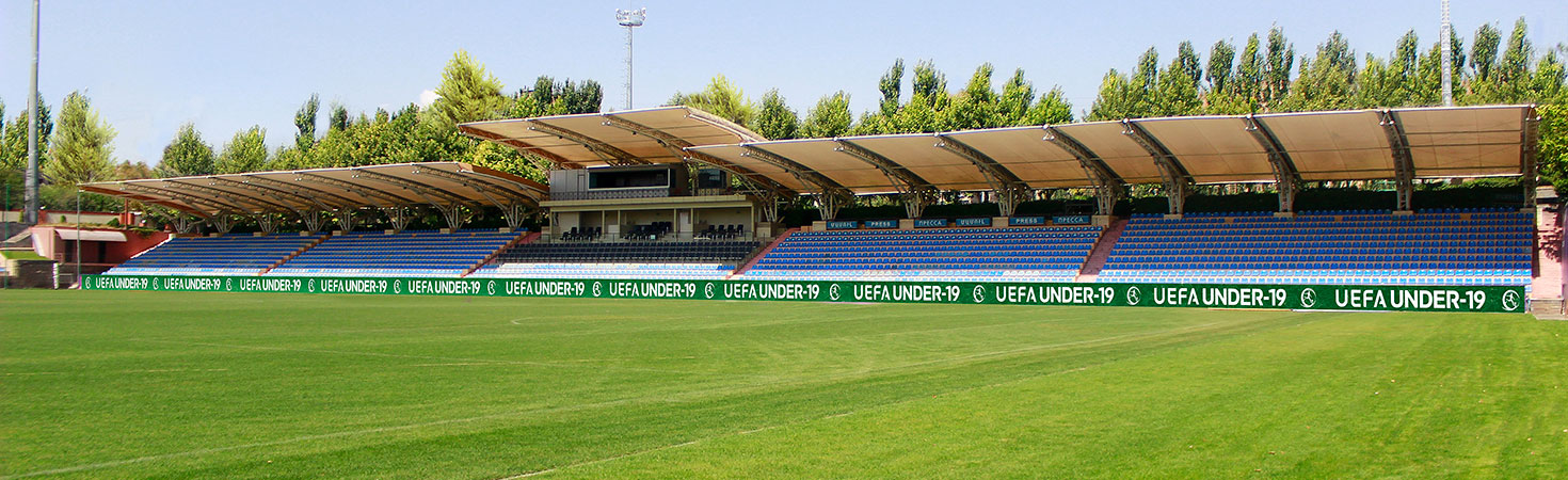 uefa under-19 field banners stadium signage