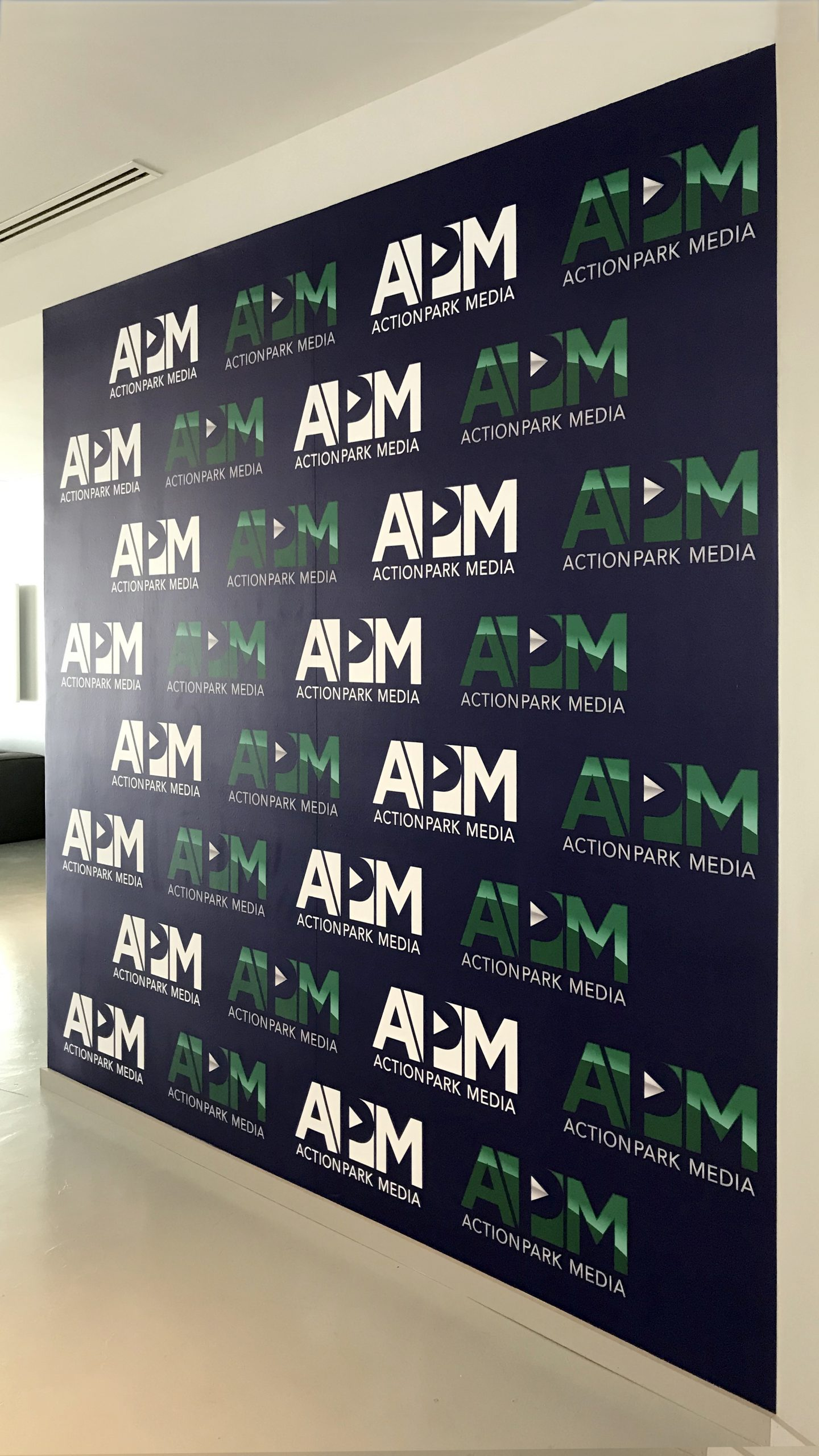 Actionpark media wall decals