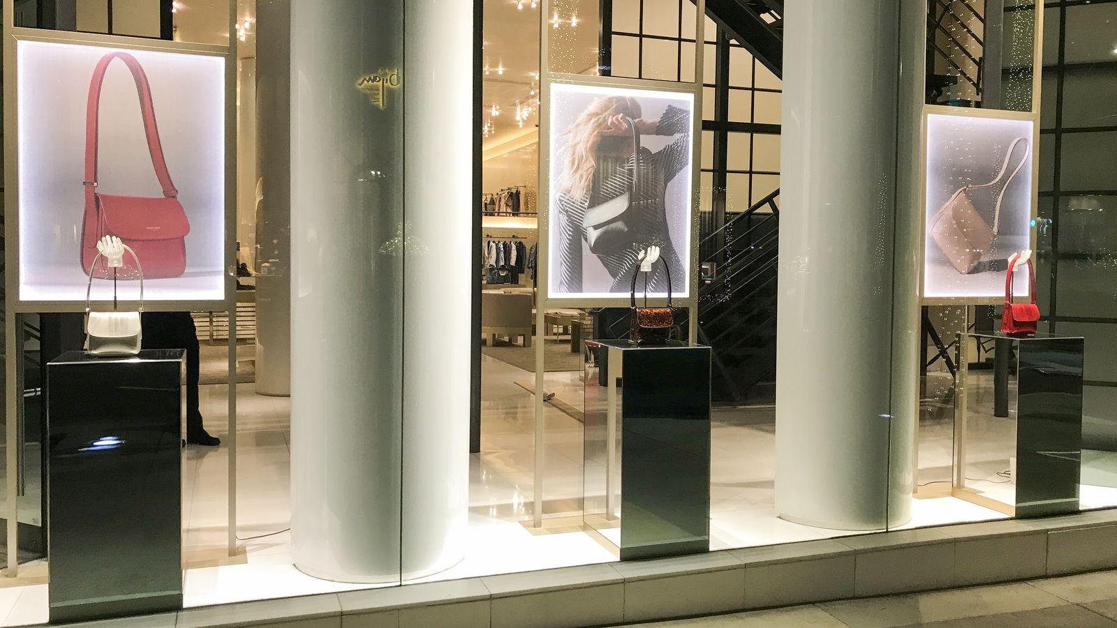 Giorgio Armani Storefront displays