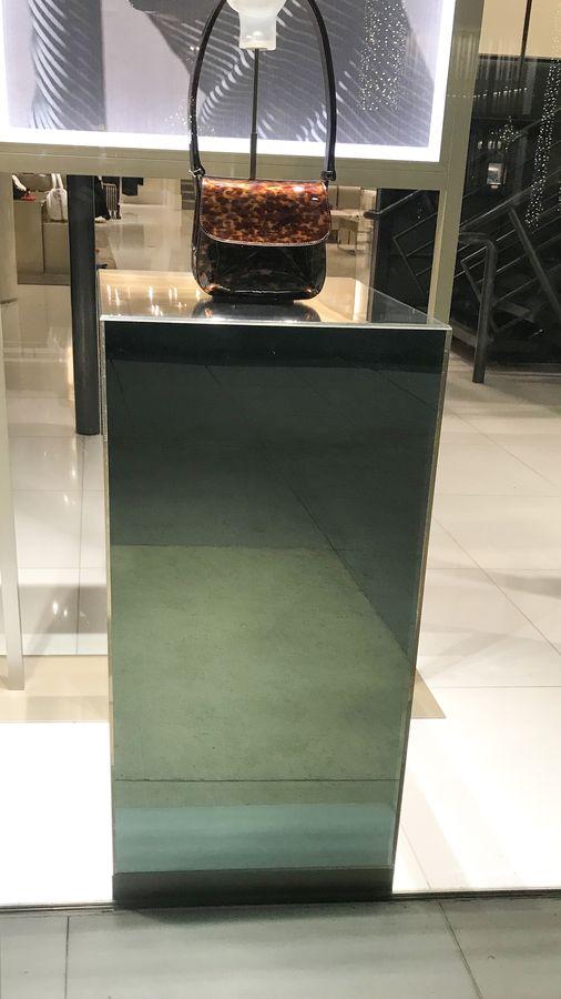 Giorgio Armani acrylic displays