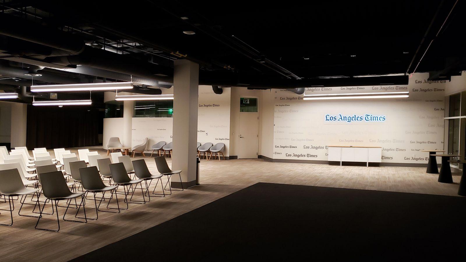 LA Times interior branding