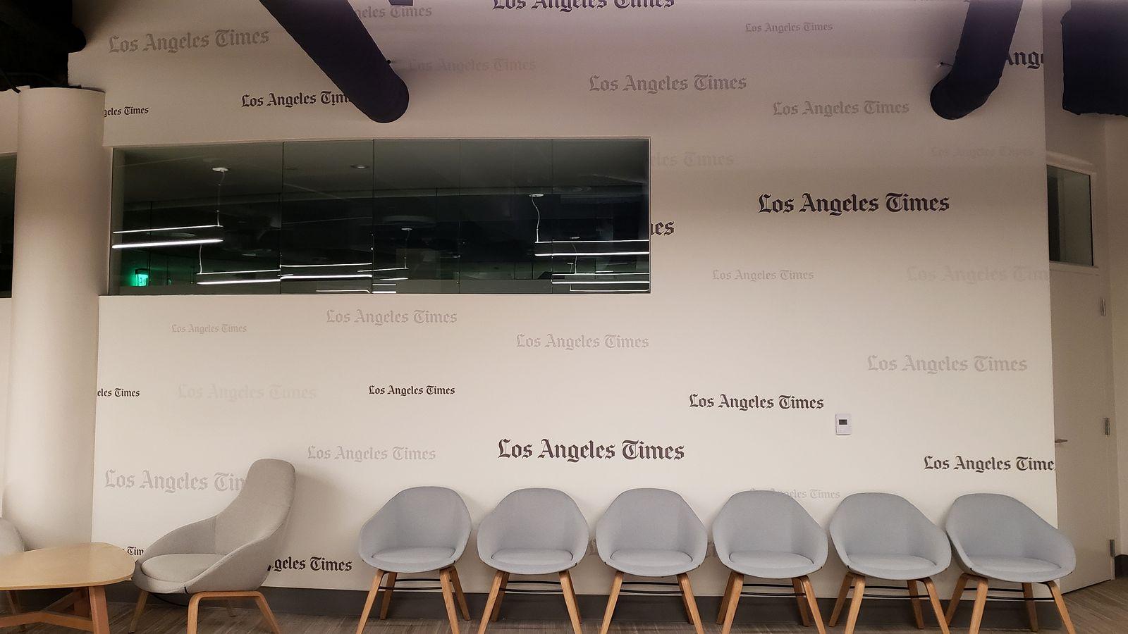 LA Times wall murals