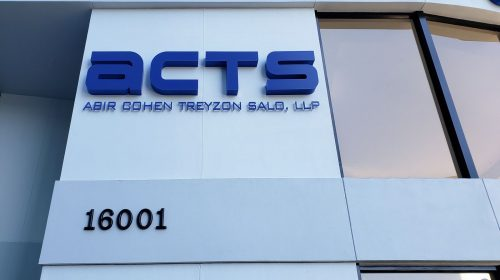 acts outdoor channel letters