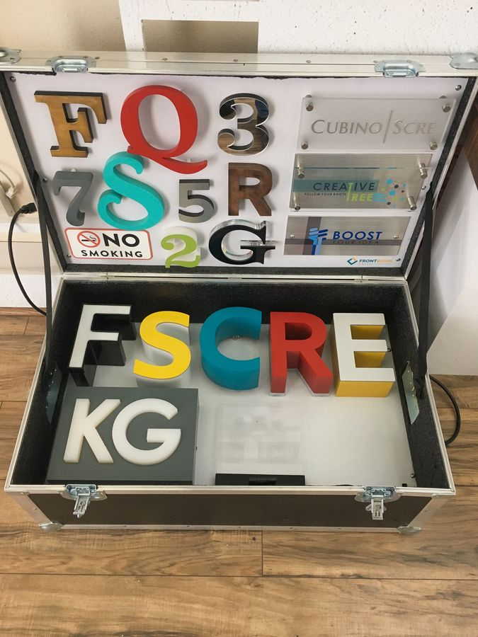 case with sign samples