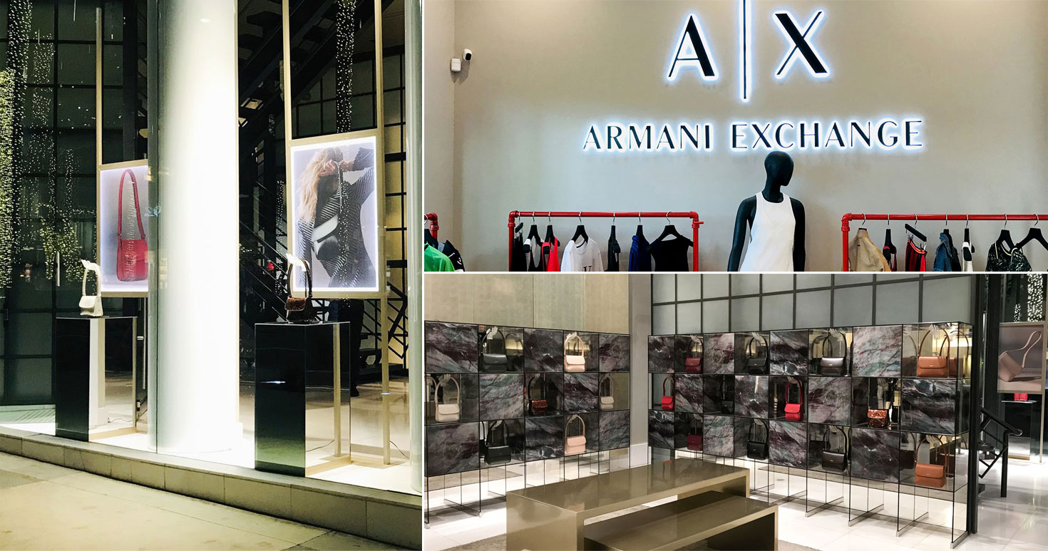 Armani-exchange-backlit-letters