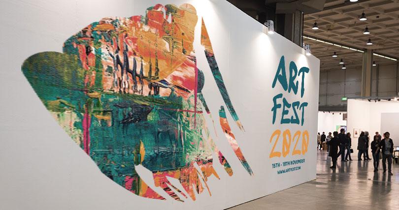 Art Fest 2020 art print booth