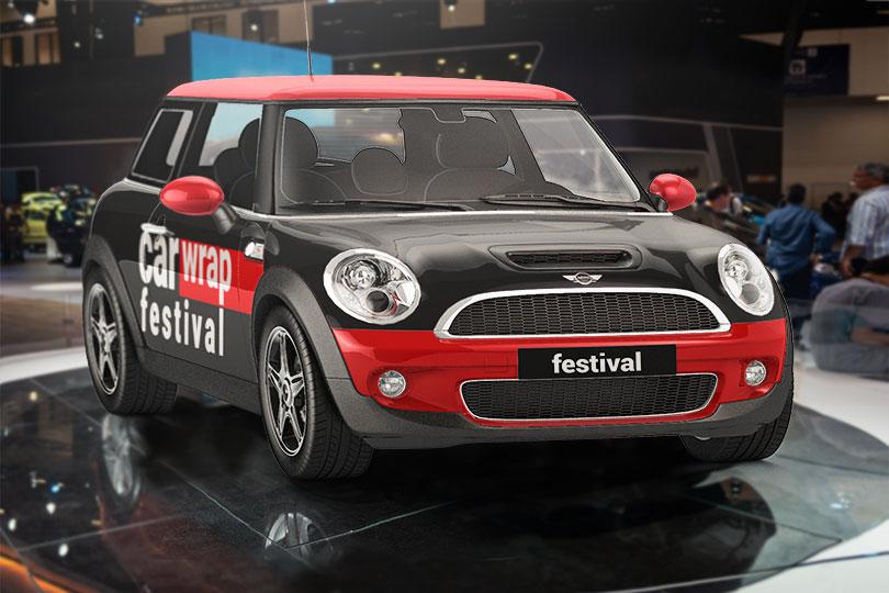 Car Wrap Festival vehicle signage