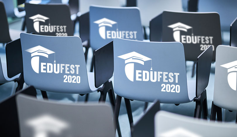 Edufest 2020 furniture signage idea