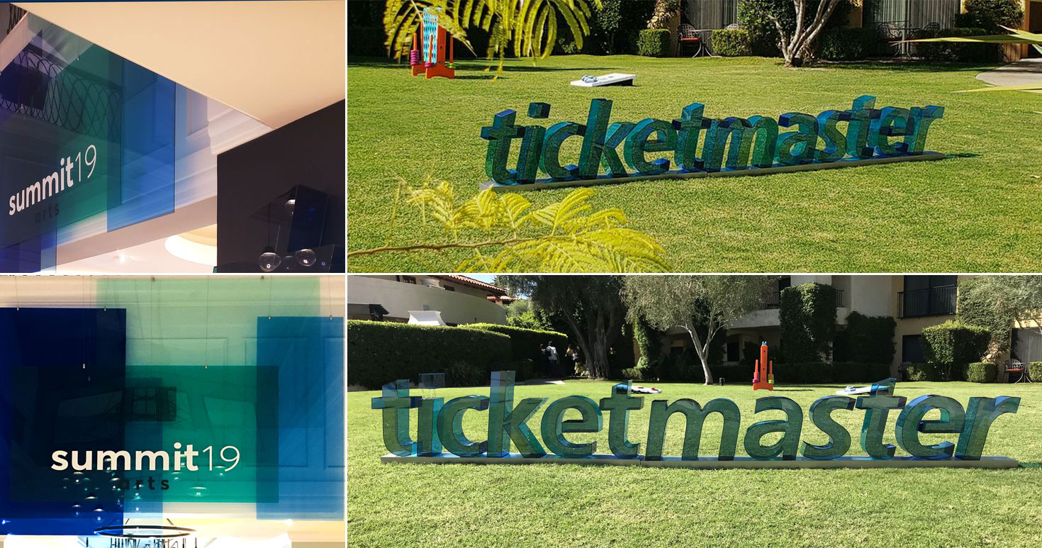 Ticketmaster-3D-dimensional-letters-stand-on-grass---Front-Signs