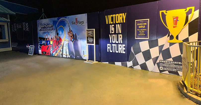 Victory Is In Your Future event wall print idea-FrontSigns
