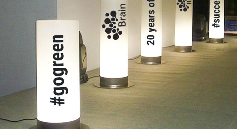#gogreen event lightup tube