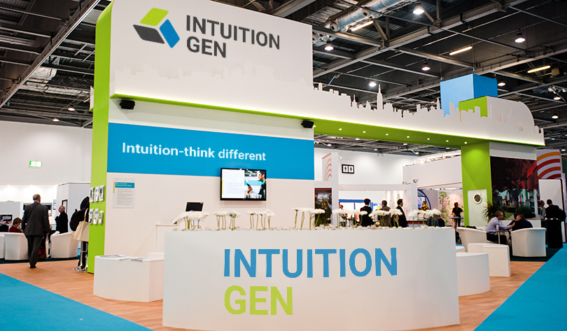 trade show booth design tip: Intuition Gen example