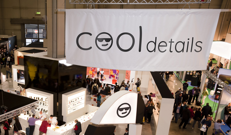 trade show banner design tip: Cool Details example