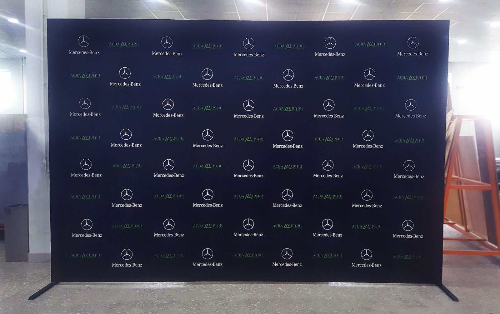 sponsorship banner for trade show booth success-Frontsigns