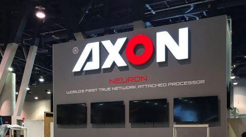 Axon light up sign