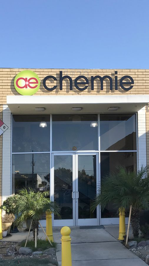 Chemie outdoor sign