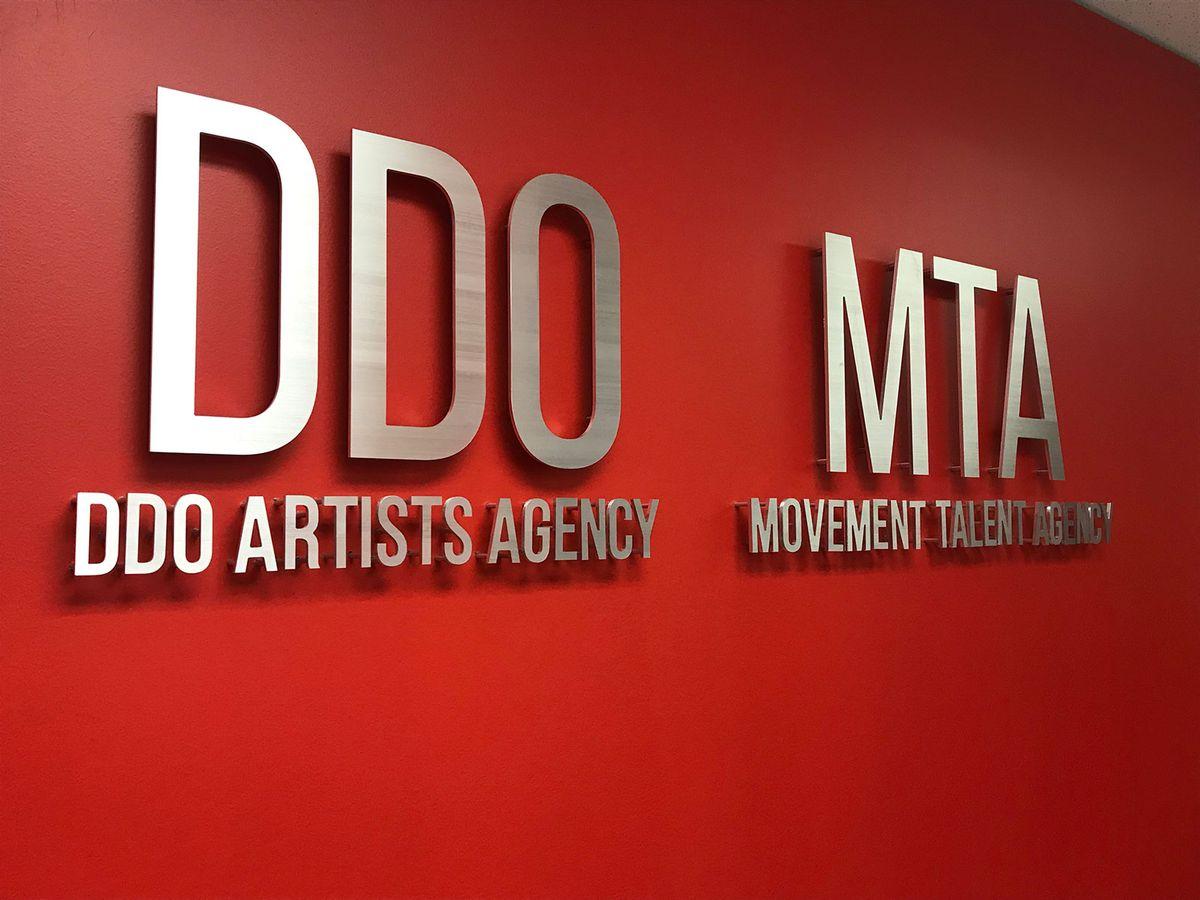 DDO MTA aluminum sign