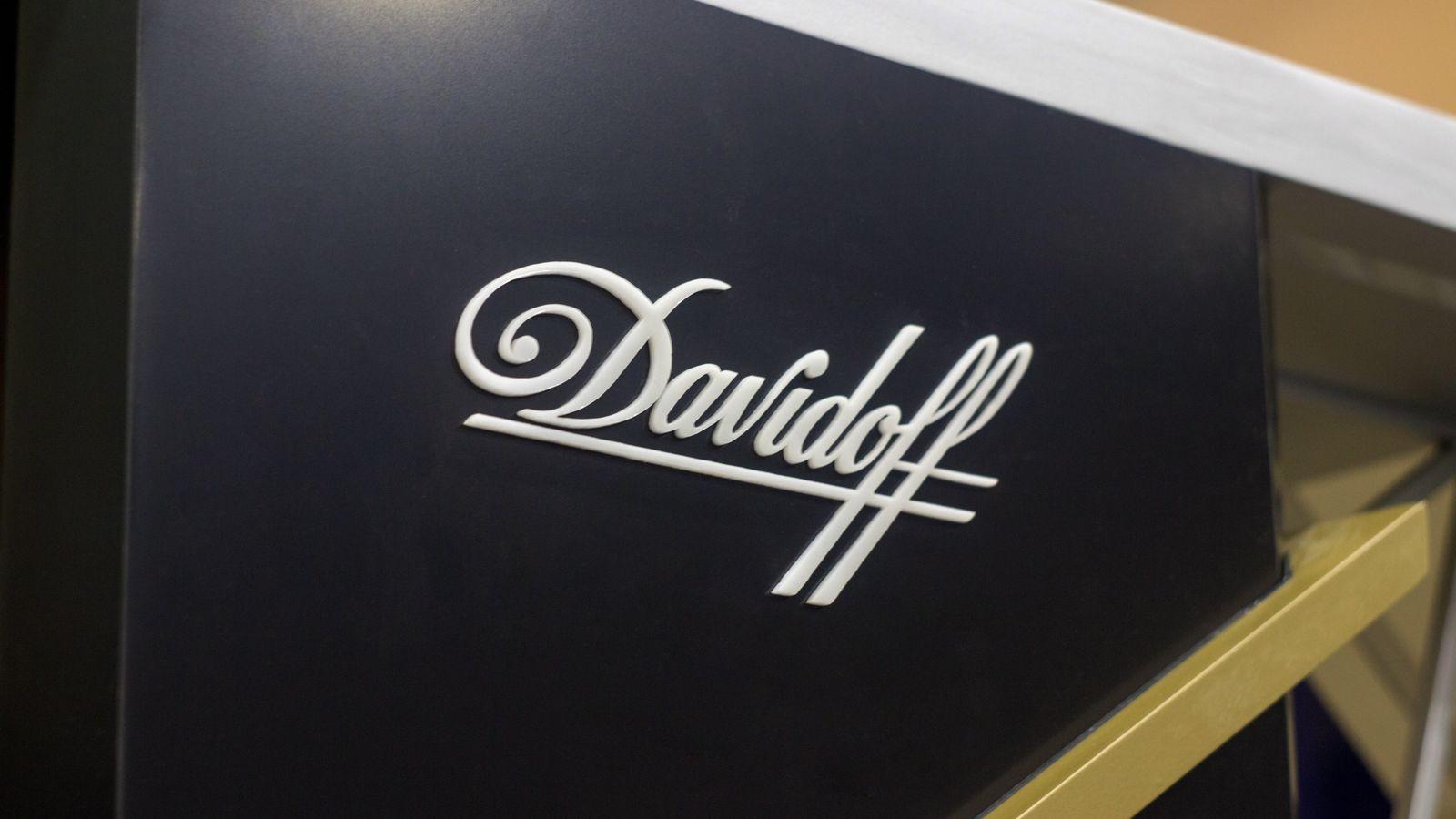 Davidoff acrylic logo