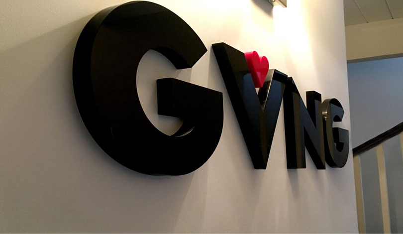 GVNG 3D business sign-Frontsigns