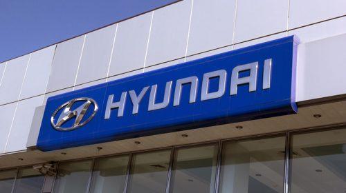 HYUNDAI aluminium business logo-Frontsigns