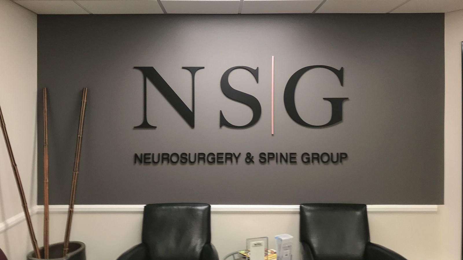 NSG 3D letters