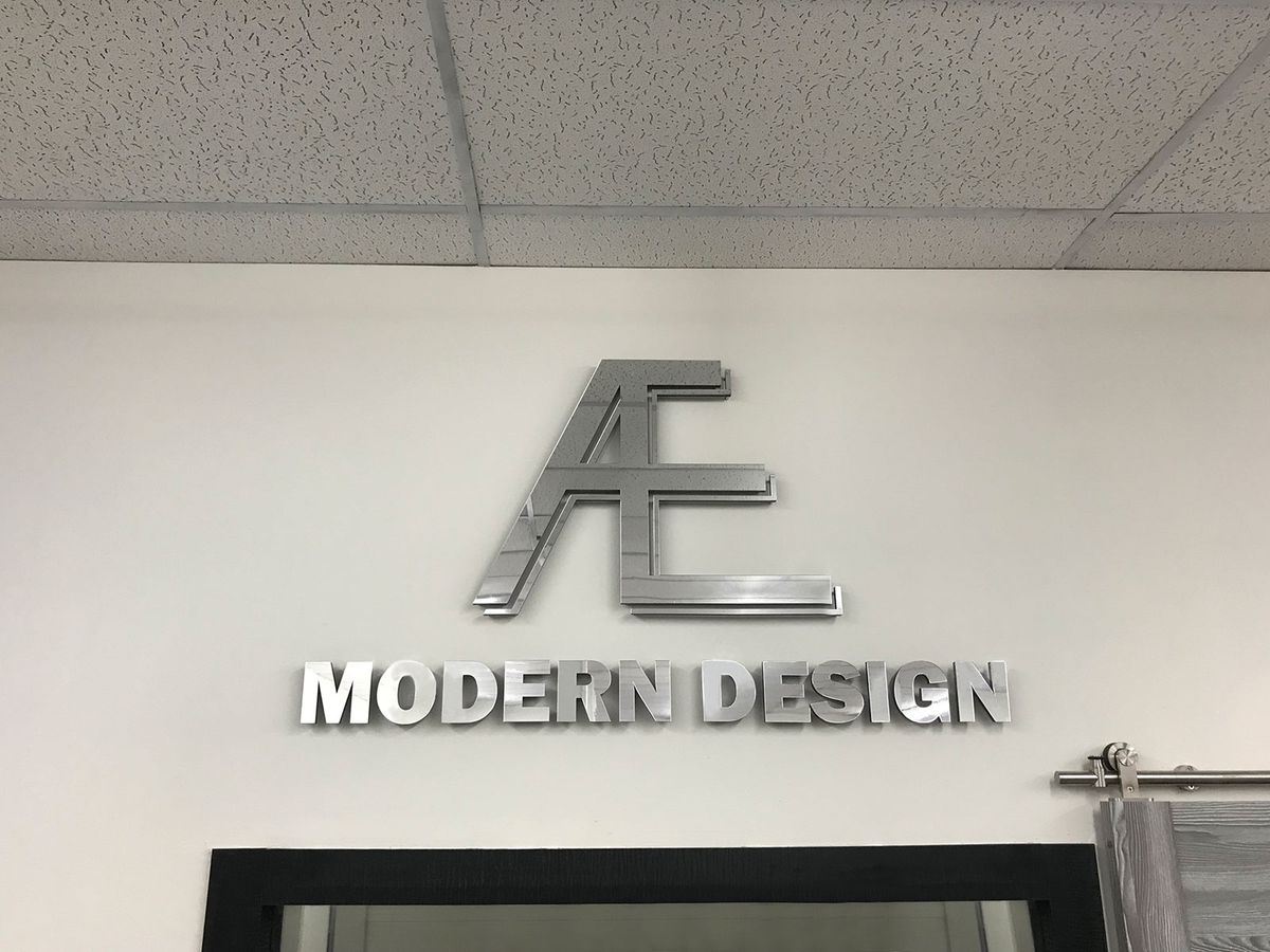 Office 3D sign
