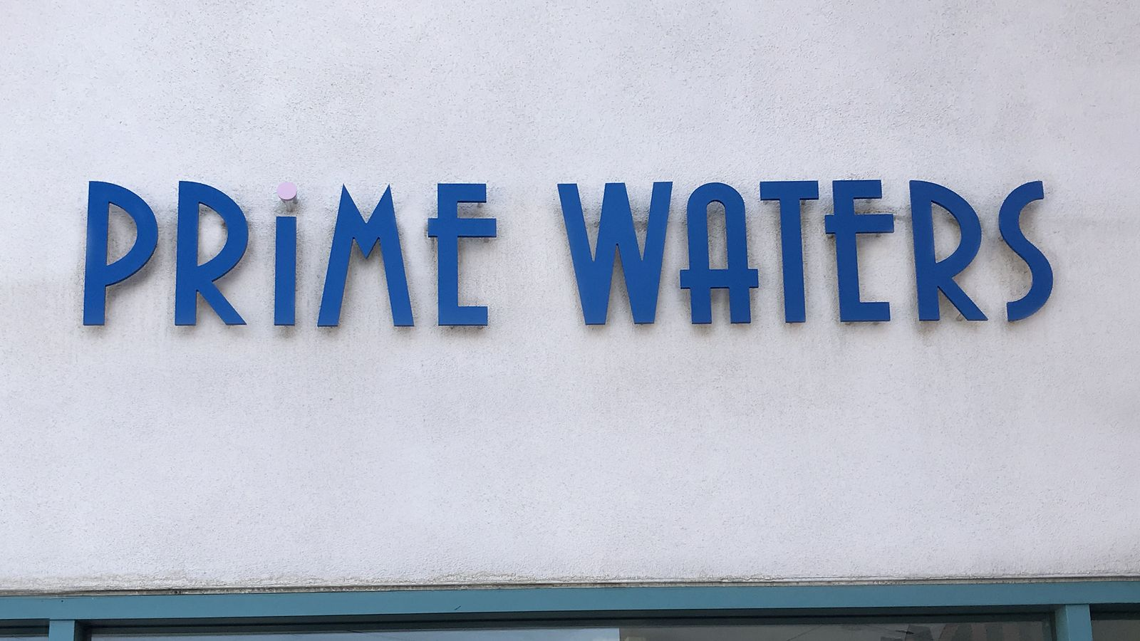 Prime Waters 3D letters