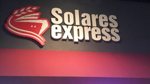 Solares Express business sign-Frontsigns