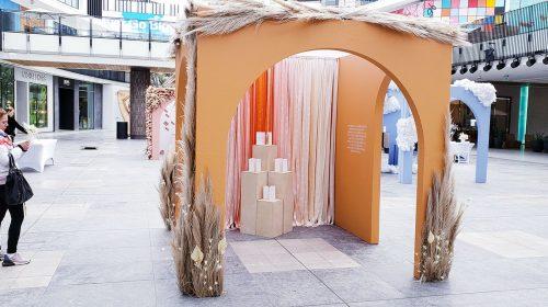 Summer Fridays tradeshow stand