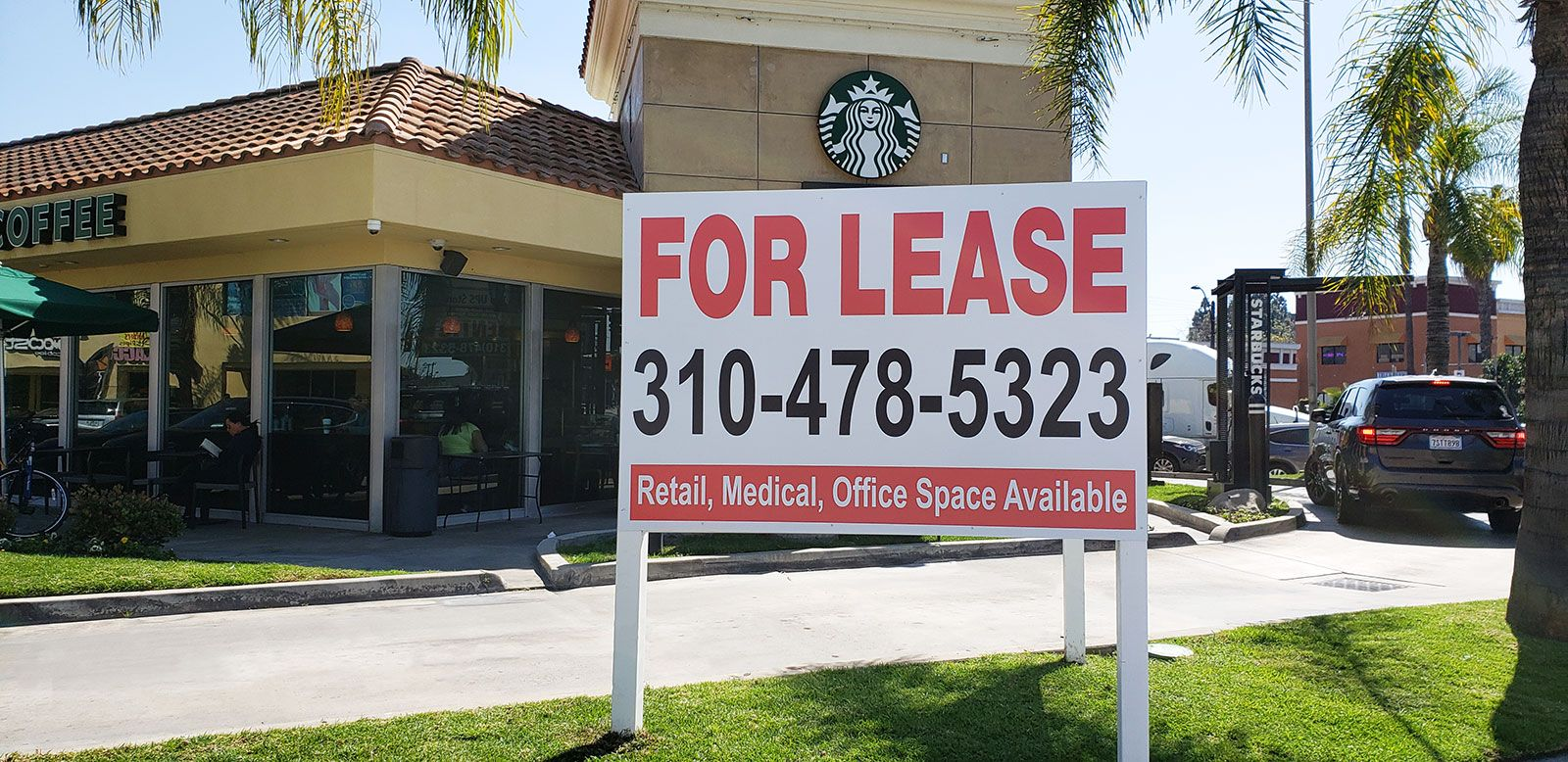 for lease yard sign