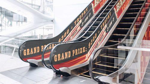 Grand Prize elevator side print