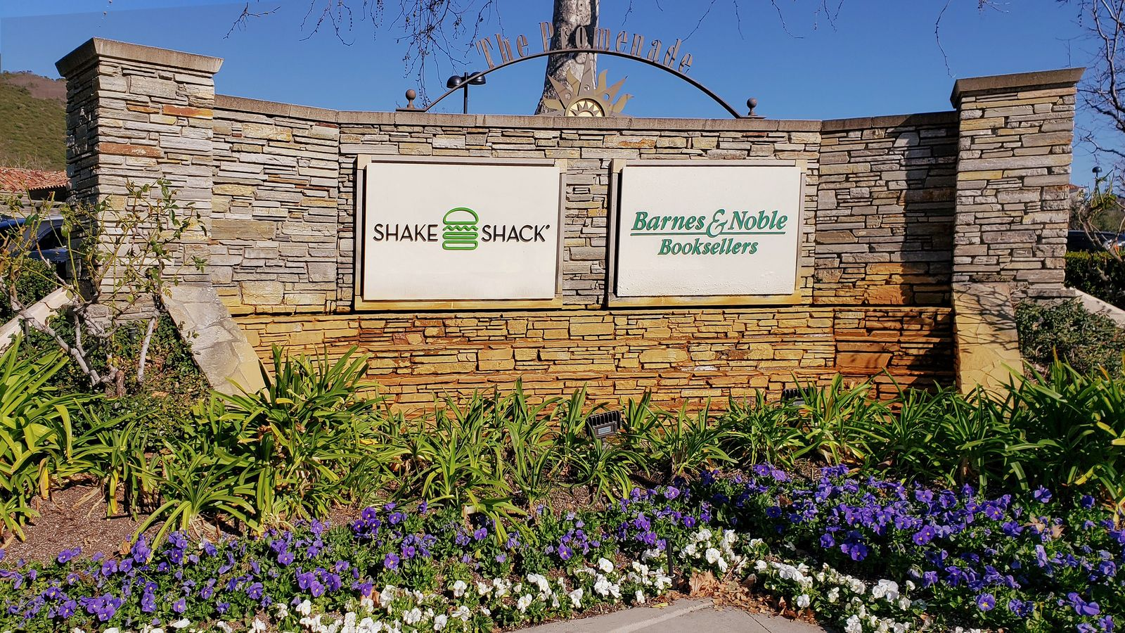 Shake Shack acrylic sign