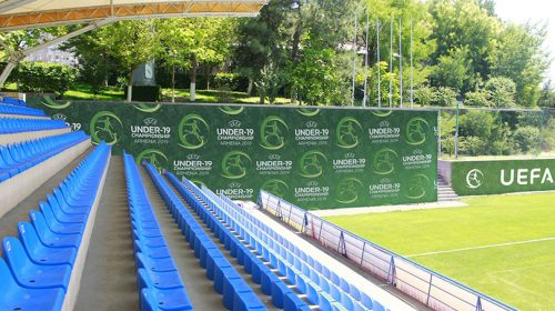UEFA Under 19 sponsorship backdrop example-Frontsigns