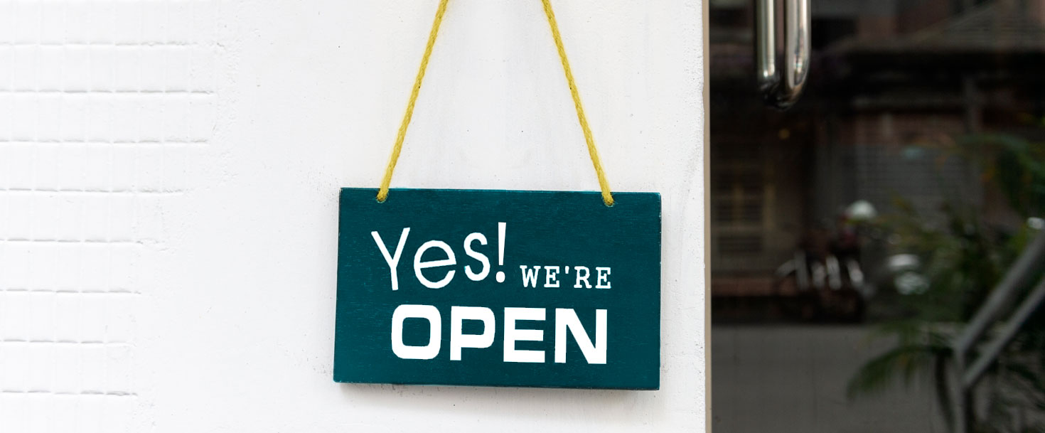 Yes We Are Open pandemic planning for business