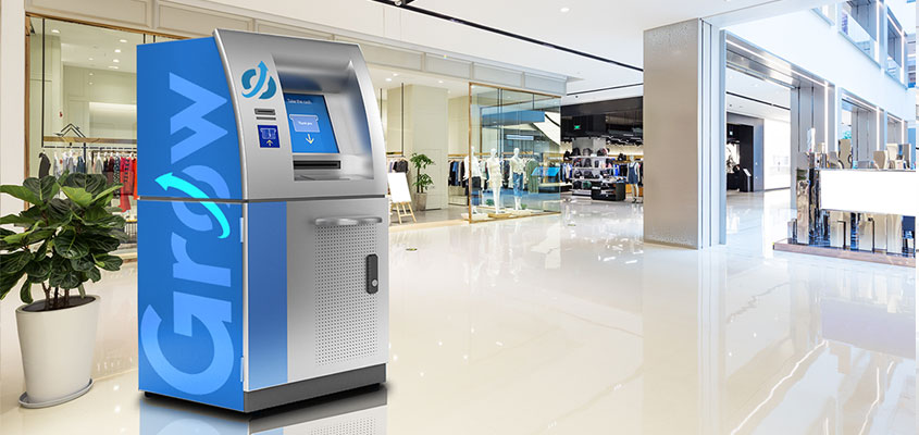 Branded ATM as a creative banking idea