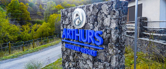 Arthurs Aghveran Resortoutdoor monumental display