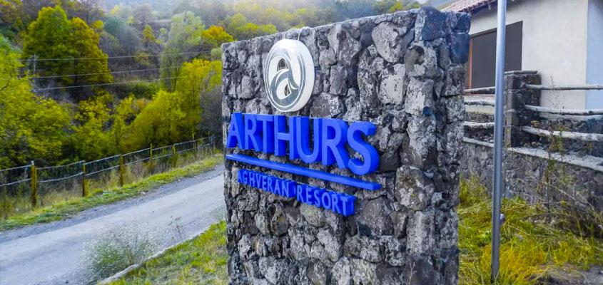 Arthurs impressive exterior business sign idea for inspiration