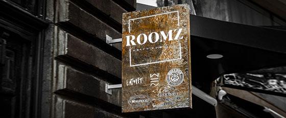 ROOMZ exterior branding solution