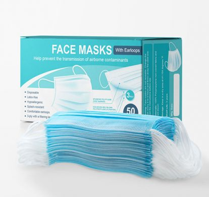 Face shield for face protection agains COVID