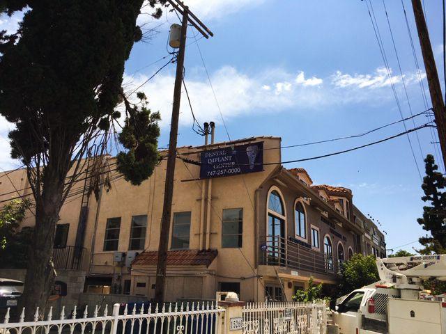 Dental center vinyl banner