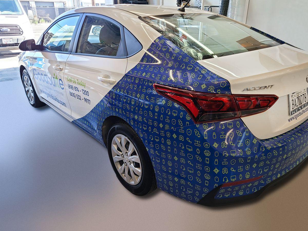 GoodSuite car wrap