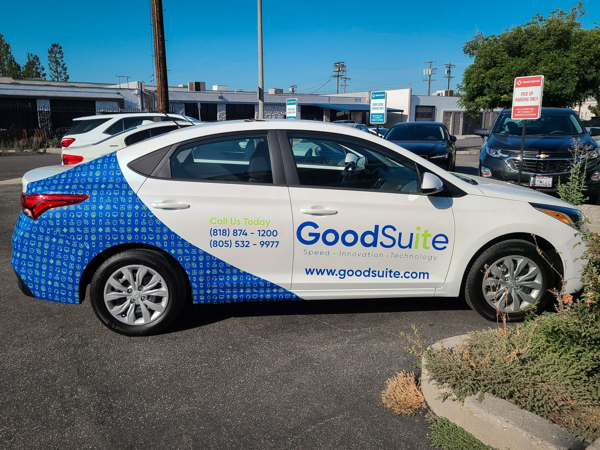 GoodSuite custom car wrap