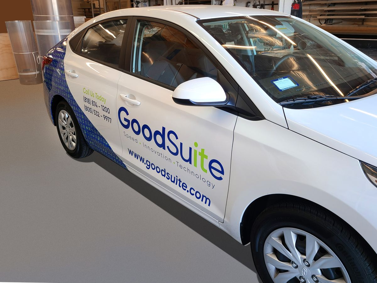 GoodSuite vehicle wrap
