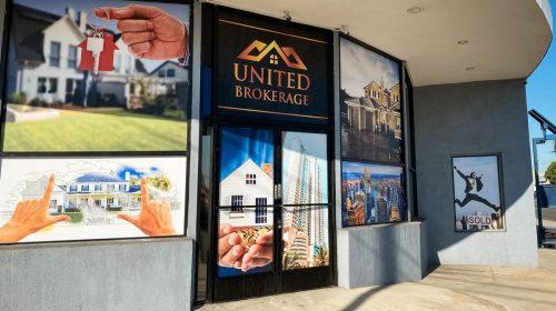 United Brokerage custom decals