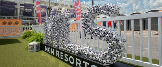 MLS creative outdoor branding solution