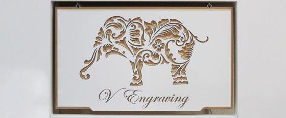 animal pattern creative wooden mural